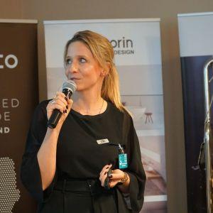 Maria Kubiak, projektantka zlewozmywaków Laveo.