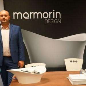 Stoisko marki Marmorin Design.