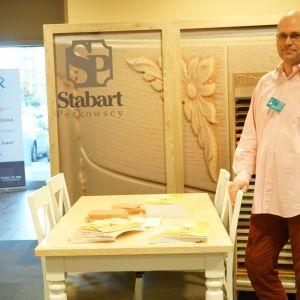 Stoisko firmy Stabart.