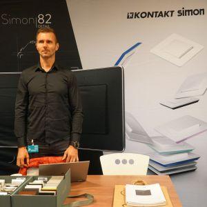 Stoisko firmy Kontakt Simon.