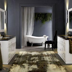 Nowoczesna łazienka - umywalka nablatowa czy podblatowa?  Fot. Technistone