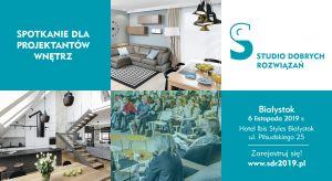 Architekt i projektanci z województwa podlaskiego - z myślą o Was przygotowaliśmy kolejne spotkanie w ramach Studia Dobrych Rozwiązań. Będzie merytorycznie i bardzo ciekawie. Zarezerwujcie czas 6 listopada!