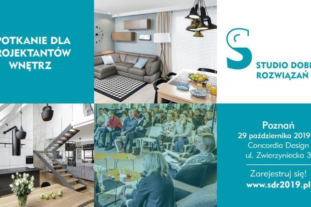 Zapraszamy architektów i projektantów wnętrz na kolejne spotkanie z cyklu Studio Dobrych Rozwiązań - 29 października będziemy w Poznaniu. Czekamy na Was w Concordia Design, przy ul. Zwierzynieckiej 3.