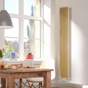Ogrzewanie w dużym domu: grzejnik Aurora podwójna z oferty Luxrad. Fot. Luxrad