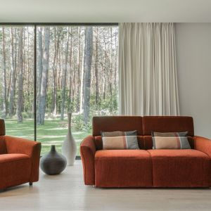 Sofa i fotel z kolekcji Nova. Fot. Gala Collezione