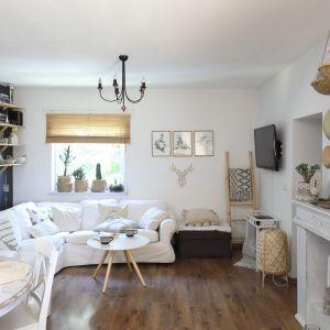 Jasne wnętrze: zobacz piękny, rodzinny dom