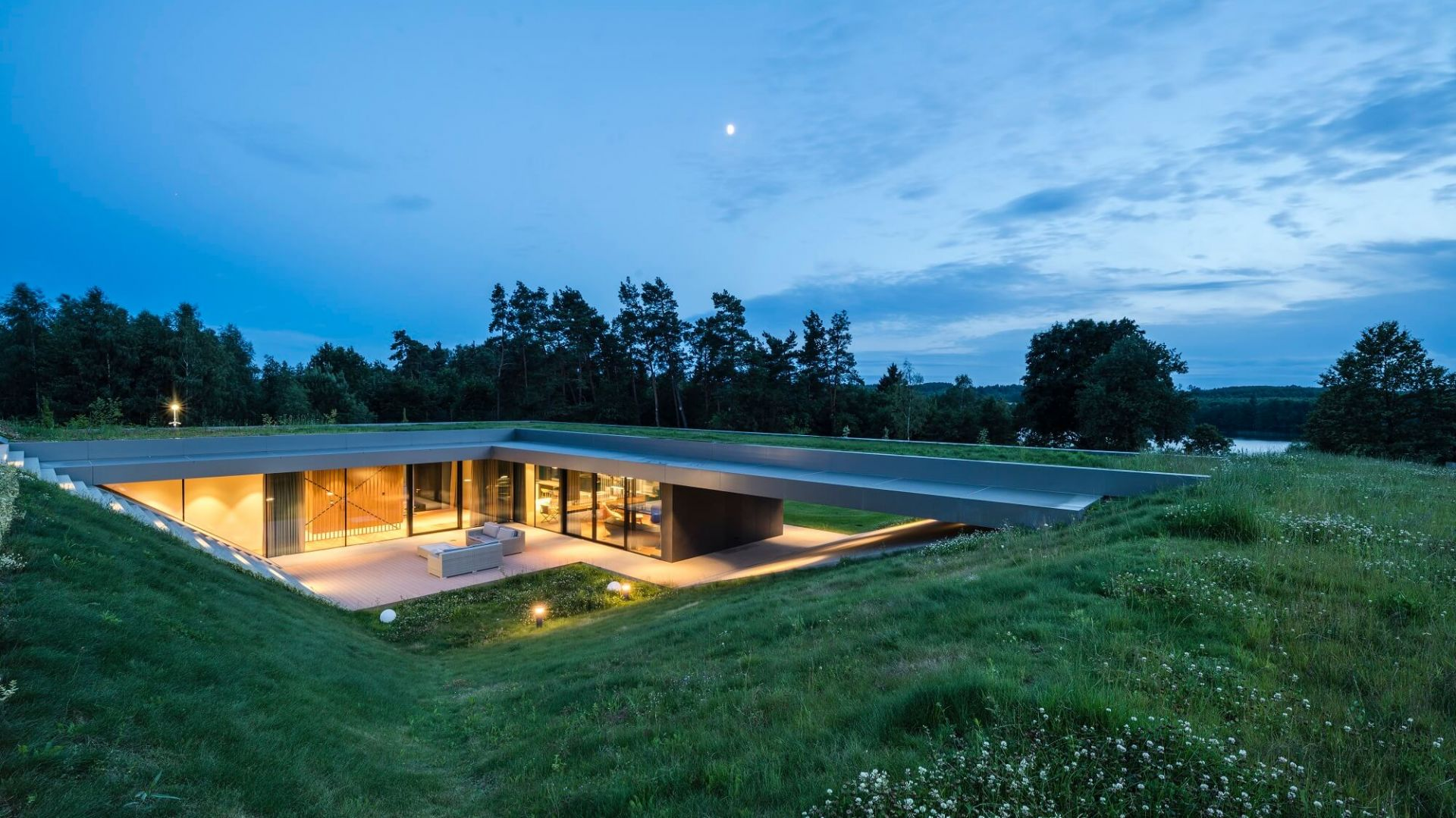 Green Line House. Projekt: pracownia Mobius Architekci