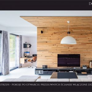 Dom jednorodzinny w Żabiej Woli. Projekt: pracownia Kuczia Architect