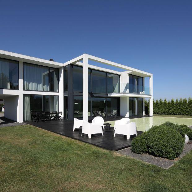Nowoczesny dom z betonu. Zobacz piękny projekt z Katowic