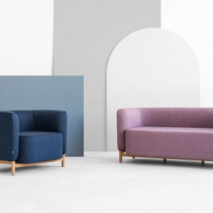 Sofa i fotel Polar dla marki Fameg. Fot. Muka Design Lab