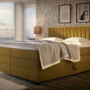 Kolekcja łożek tapicerowanych Palermo, Emilia Meble. Produkt zgłoszony do konkursu Dobry Design 2020.