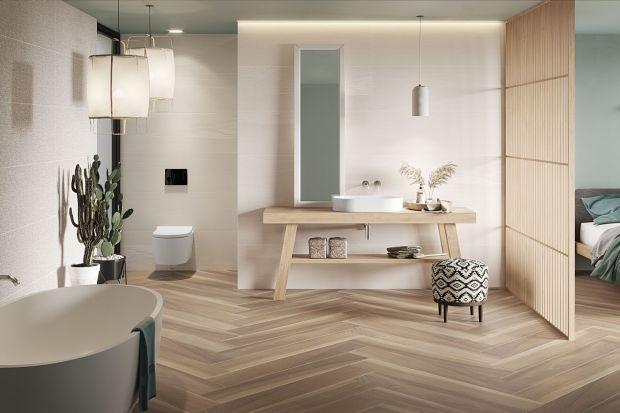 Płytki do łazienki - kamień, drewno i tkaniny w nowej kolekcji