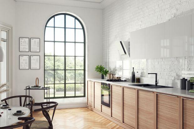 Eklektyczny apartament - tak można urządzić kuchnię