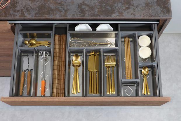Szuflady w kuchni: nowe rozwiązania