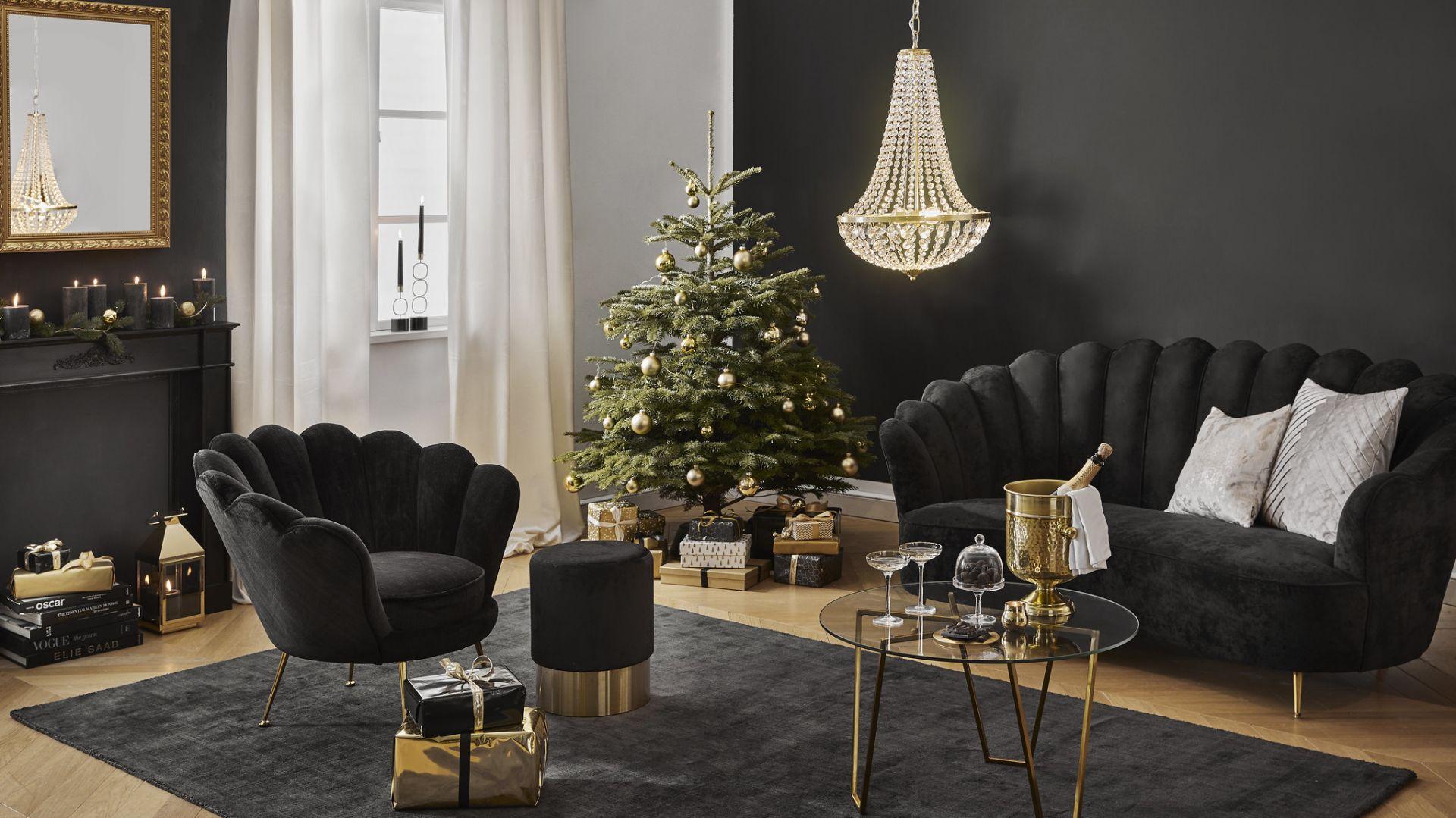 Aranżacje świąteczne: wybierz styl glamour. Fot.  Westwing