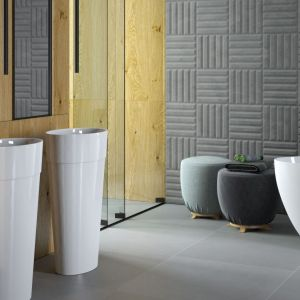 Uniqa umywalka wolnostojąca / nablatowa/Besco. Produkt zgłoszony do konkursu Dobry Design 2020.