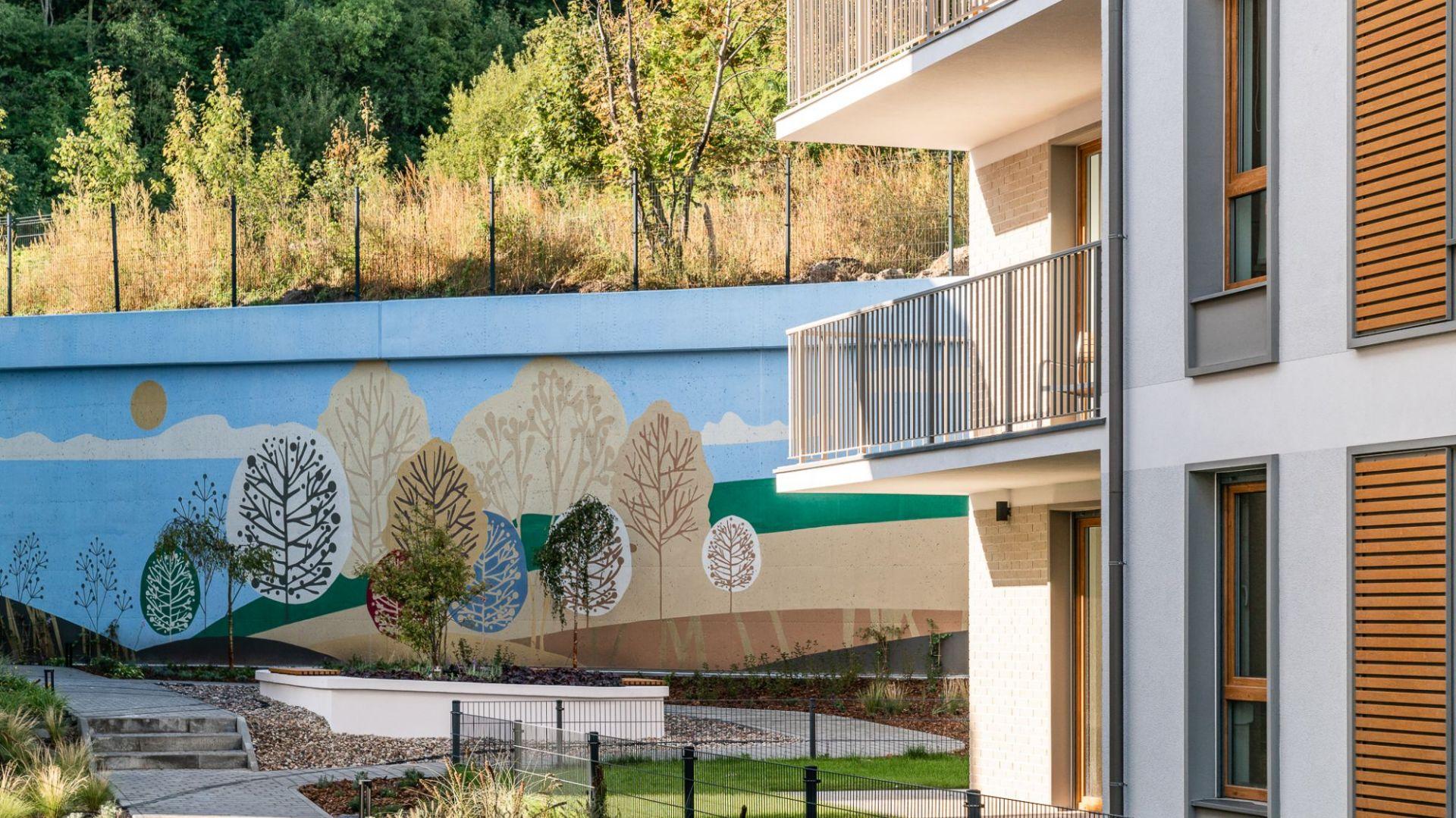 Mural na osiedlu Vialo. Fot. TPS Reapolis