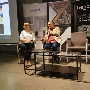 O automatyce budynkowej w standardzie KNX mówił Jacek Zart, KNX Poland.