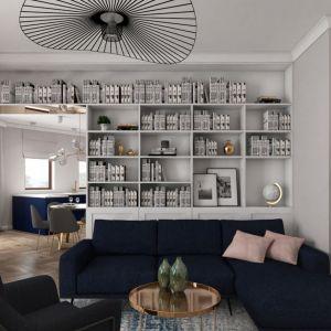Salon. Fot. Pracownia Architektoniczna MGN