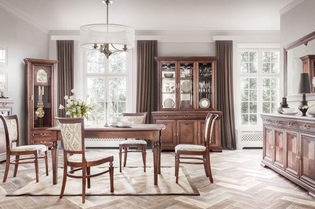 Meble do salonu i jadalni - kolekcja w stylu klasycznym