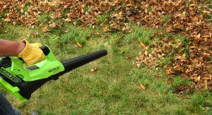 Sterty żółtych, czerwonych i szarych liści pokrywają trawnik, grządki i ścieżki – jak co roku. Pora rozprawić się z nimi nowoczesnymi metodami – zamiast miotły i grabi wykorzystajmy dmuchawy, odkurzacze i zamiatarki. Będzie szybciej, łatw