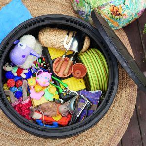Narzędzia ogrodowe: skrzynie do przechowywania. Fot. Keter Poland