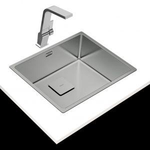 Flexlinea - seria zlewozmywaków stalowych/Teka. Produkt zgłoszony do konkursu Dobry Design 2020.