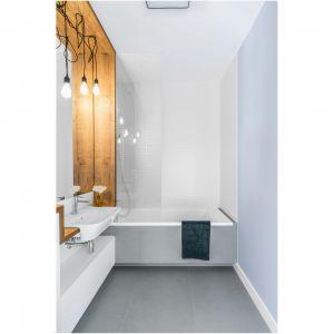 Aranżacja łazienki: intrygujące oświetlenie. Fot. Decoroom