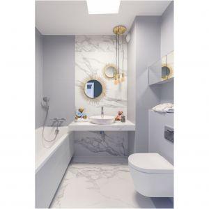Aranżacja łazienki: ciekawe detale - lustra. Fot. Decoroom