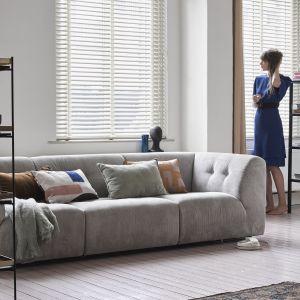 Sofa modułowa Vint umożliwia stworzenia własnej kombinacji kształtu mebla. Fot. HK Living