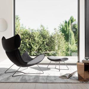 Kultowy fotel Imola (proj. Henrik Pedersen) o unikatowej, ponadczasowej formie. Fot. BoConcept