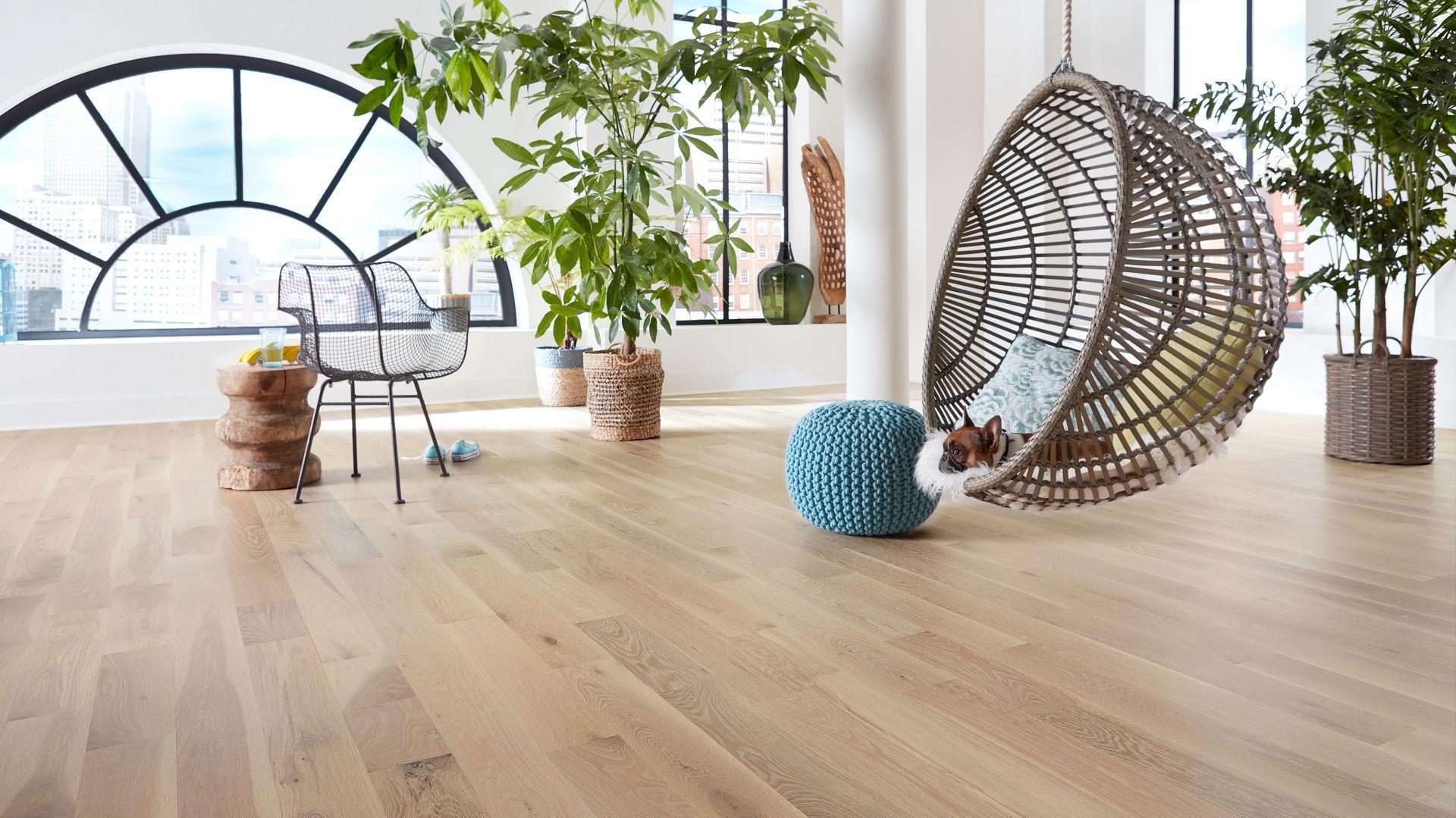 Innowacyjny system olejów Bona wydobywa naturalne piękno drewnianych podłóg i pozwala uwydatnić ich unikalny charakter. Fot. Bona