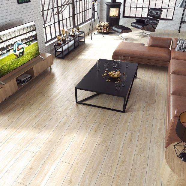 Podłoga w salonie - 10 pięknych kolekcji
