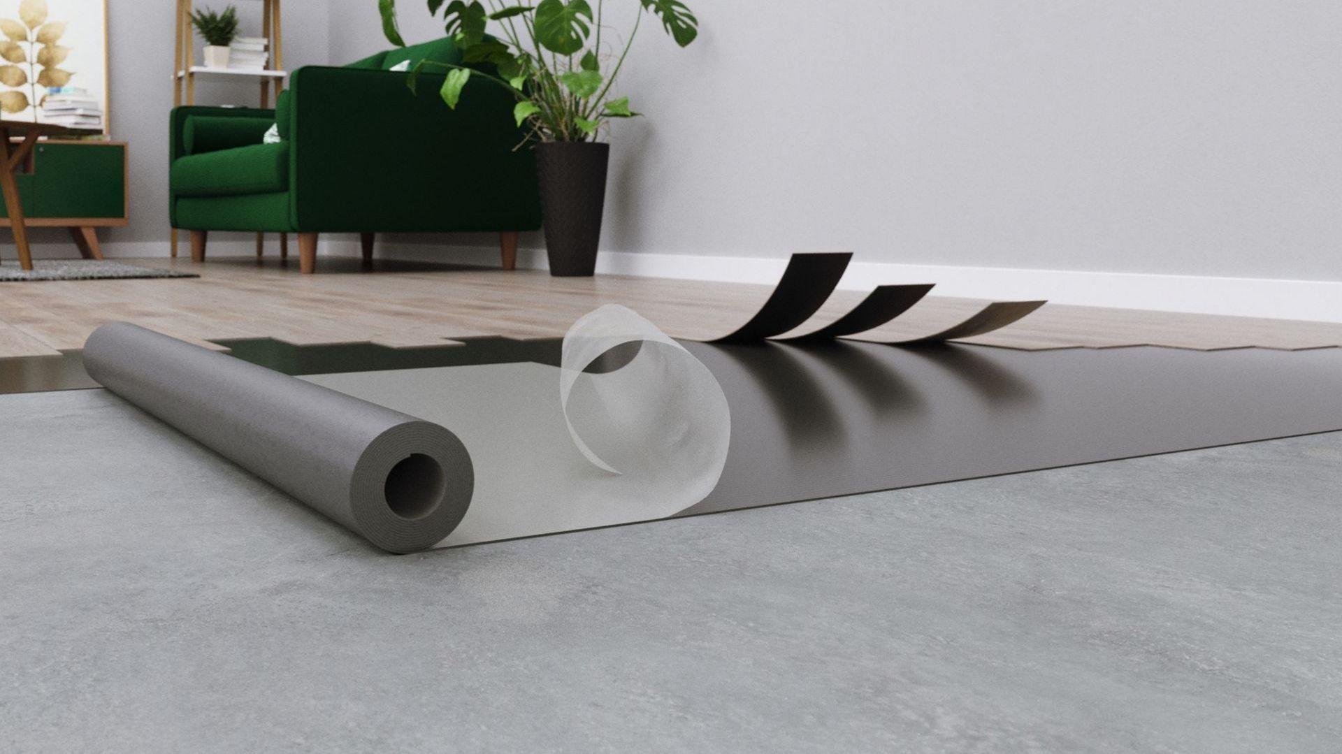 Panele kolekcji Aroq + podkład Fastlay/Arbiton. Produkt zgłoszony do konkursu Dobry Design 2020.