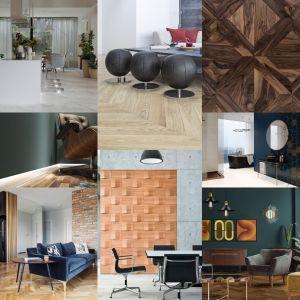 Wybieramy najlepsze pomysły na podłogi i ściany 2019 roku!