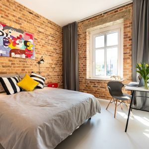 Mieszkanie pełne kontrastów na katowickiej Koszutce/Wellcome Home. Produkt zgłoszony do konkursu Dobry Design 2020. Wnętrze zgłoszone do konkursu Dobry Design 2020.