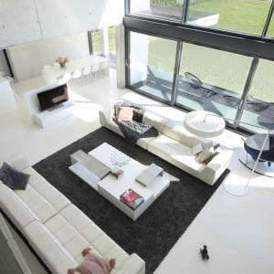 Projekt: arch. Hanna i Seweryn Nogalscy, Beton House Architekci. Fot. Bartosz Jarosz. Wnętrze zgłoszone do konkursu Dobry Design 2020.