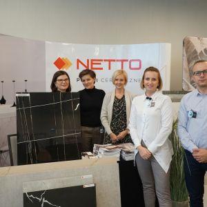 Stoisko firmy Netto Plus
