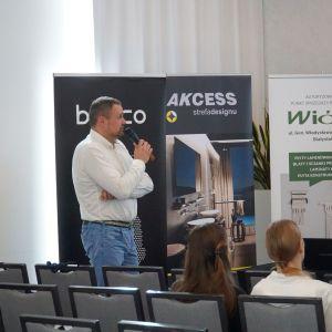 Krzysztof Piotrowski, prezentacja firmy Technistone