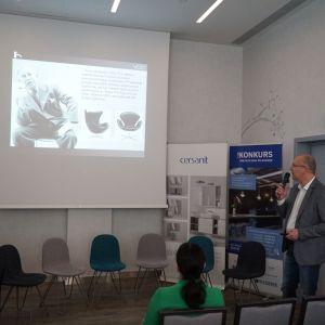 Tomasz Paszkowski, prezentacja firmy Mirad, marka Vola