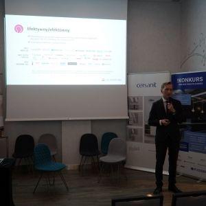 Marcin Pietrzyk, prezentacja firmy CAD Projekt K&A