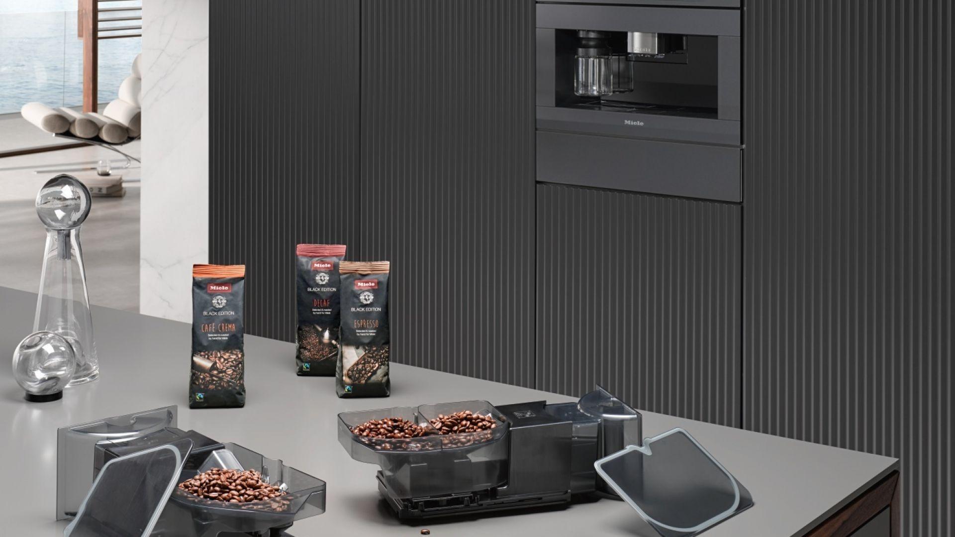 Pyszna kawa. Poznaj nową linię ekspresów do zabudowy Generacja 7000 marki Miele. Fot. Miele