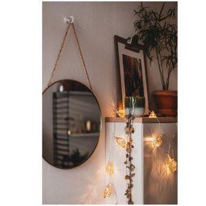 Światło, kolor, ciepło... wnętrza, które przepędzą jesienną chandrę. Na zdjęciu lampki LED firmy Kik. Fot. Kik
