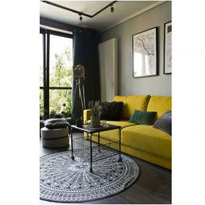 Wnętrze w stylu loft. Projekt: Magdalena Miśkiewicz. Fot. Miśkiewicz Design