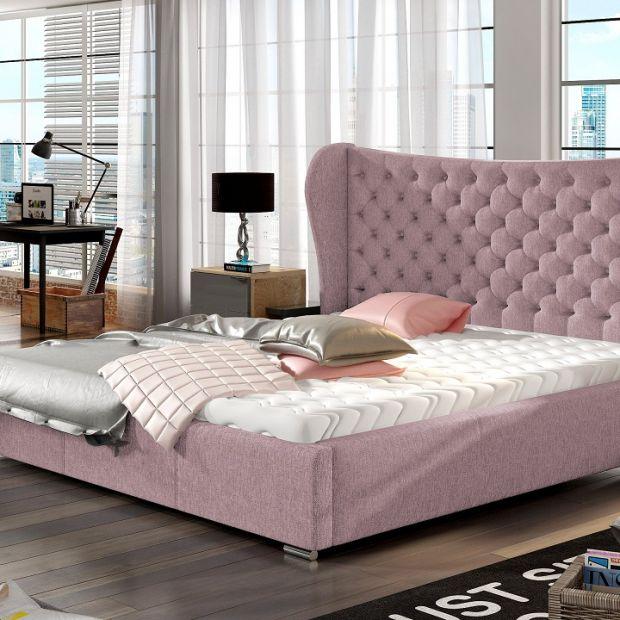 Nowoczesna sypialnia - pomysł na aranżację w stylu francuskim