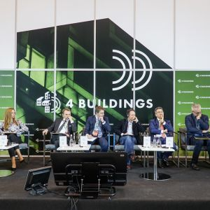 """4Buildings: sesja inauguracyjna """"Zero Waste w budownictwie"""". Fot. PTPW"""