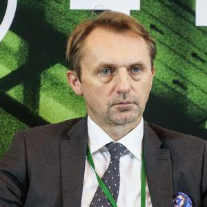 """Dariusz Blocher. 4Buildings: sesja inauguracyjna """"Zero Waste w budownictwie"""". Fot. PTPW"""