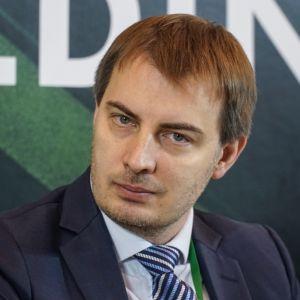 """Marcin Mądry. 4Buildings: sesja inauguracyjna """"Zero Waste w budownictwie"""". Fot. PTPW"""