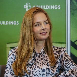 """Agnieszka Kalinowska-Sołtys. 4Buildings: sesja inauguracyjna """"Zero Waste w budownictwie"""". Fot. PTPW"""