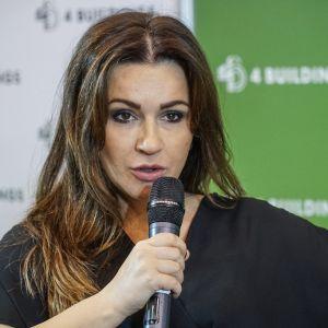 """Beata Tadla. 4Buildings: sesja inauguracyjna """"Zero Waste w budownictwie"""". Fot. PTPW"""